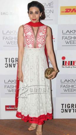 Karishma Kapoor In Anarkali Suit