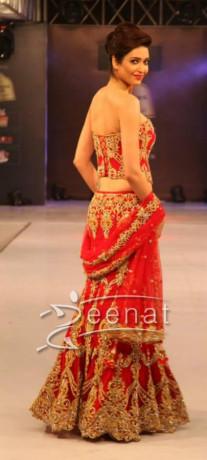 Karishma Tanna In Bridal wear