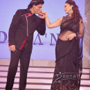 Madhuri Dixit In Bollywood Black Saree