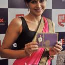 Mandira Bedi during the launch of FedEx CCD Rakhi Offer 2013