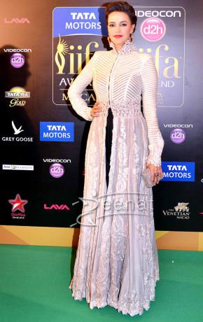 Neha Dhupia in Designer Frocks
