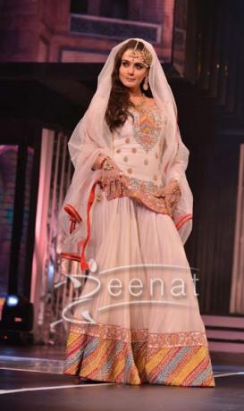 Preity Zinta In Bollywood Lehenga Choli