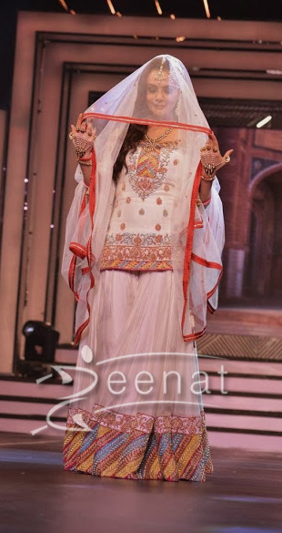 Preity Zinta In Designer Lehenga Choli