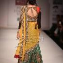 Raima Sen In Designer Lehenga Saree Style