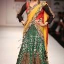 Raima Sen In Bollywood Lehenga Saree Style