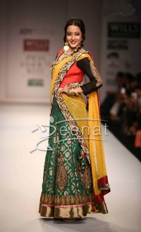 Raima Sen Walks For Joy Mitra at Wills Lifestyle Fashion Week Spring Summer