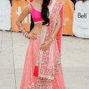 Shriya in Bollywood Clothing