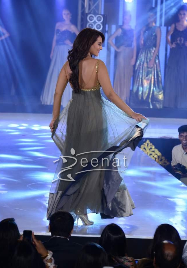 Sonakshi Sinha In Bollywood Frock