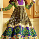 Sonali In Mehndi Green Anarkali Churidar