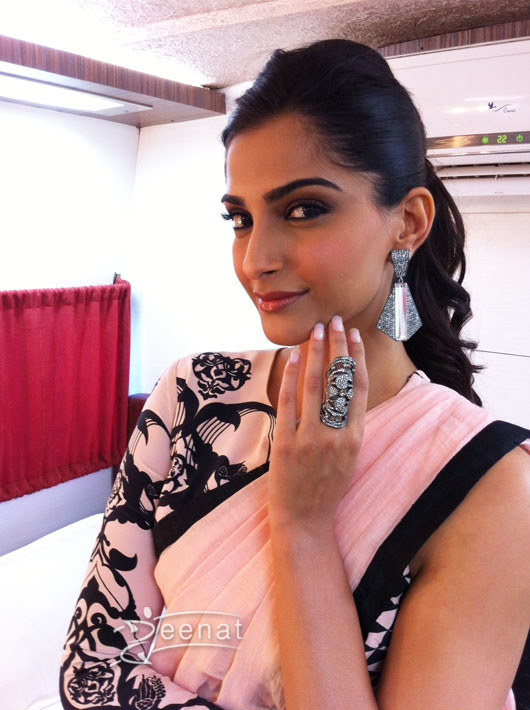 Sonam Kapoor In Bollywood Saree