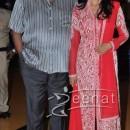 Sridevi in a Floor length churidaar Costume At Bengali Movie Premiere