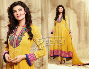 Sushmita Sen In Designer Anarkali Churidar 1D