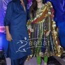 Twinkle Khanna in designer Anarkali Suit
