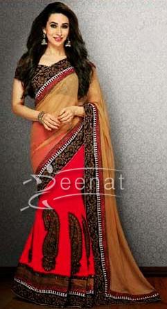 Karishma In Designer Saree 1K