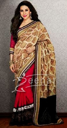 Karishma In Designer Saree 1G