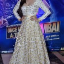 Prachi Desai in Long white Anarkali suit