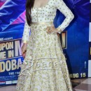 Prachi Desai in Long white Anarkali suit at Ekta kapoor iftar party 2013