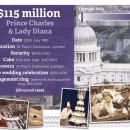 Prince Charles & Lady Diana - $115 million