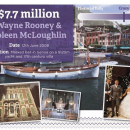 Wayne Rooney & Coleen McLoughlin - $7.7 million