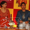 "Sonam Kapoor at Birla Sun Life Insurance Ties Up with ""Bhaag Milkha Bhaag"""