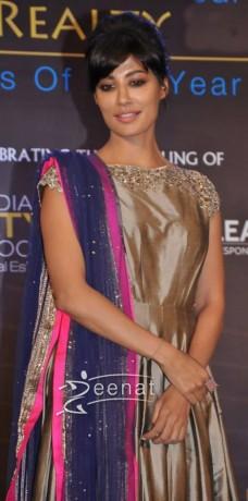 Bollywood Actress Chitrangada Singh at Indian Realty Awards 2013