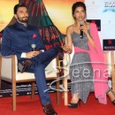 Deepika In Designer Grey Anarkali Frock