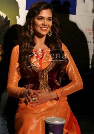 Esha Gupta In Bollywood Salwar Kameez