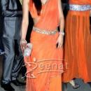 Geeta Basra In Designer Lehenga Saree