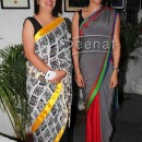 Gul Panag Sports Grey Saree to Launch Soldier and Spice in Mumbai