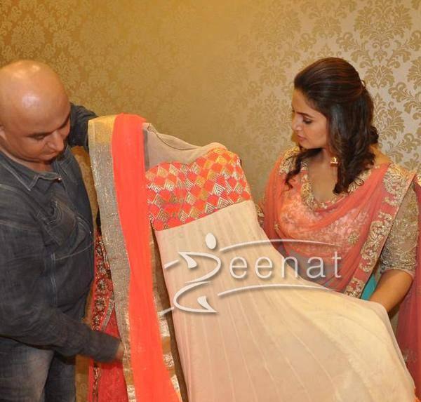 Huma Qureshi In Anarkali Churidar