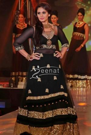 Huma Qureshi in Bollywood Lehenga