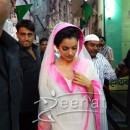 Kangana Ranaut In White Anarkali Suit