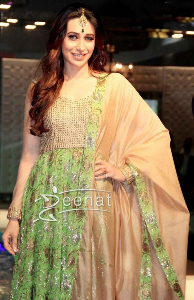 Karisma Kapoor In Anarkali Suit