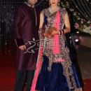 Aamna Sharif In Designer Lehenga Choli
