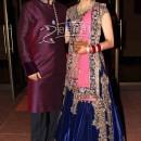 Aamna Sharif In Bridal Lehenga Choli