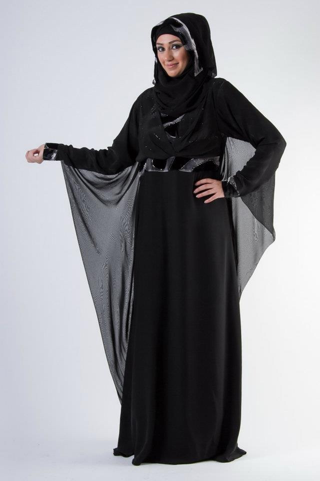 Al Karam Qasdri latest Abaya Collection 2014