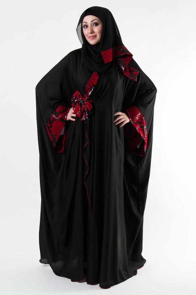 Al Karam Qasdri latest Abaya Collection 2014