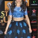 Deepika Padukone In Blue Lehenga Choli