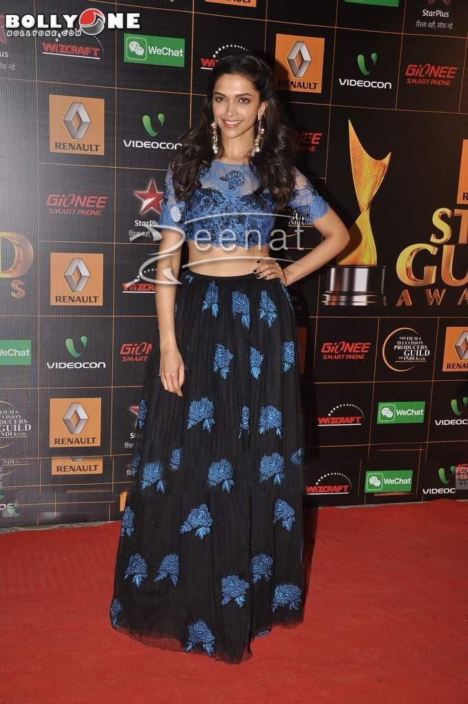 Deepika Padukone at Star Guild Awards 2014