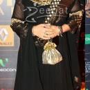 Divya Dutta In Black Anarkali Frock