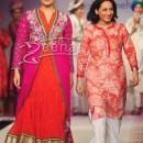 Huma Qureshi walking the ramp for Krishna Mehta