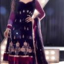 Zarine Khan In Anarkali Suit R444
