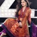 Zarine Khan In Anarkali Suit R443