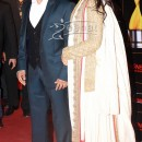 Jacqueline Fernandez In White Golden Saree