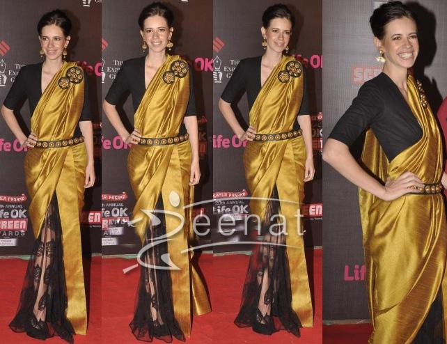 Kaliki In Designer Saree