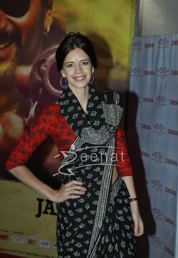 Kalki Koechlin at Dedh Ishqiya premiere in Cinemax Mumbai on 9th Jan 2014