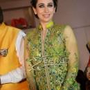 Karisma Kapoor in Anarkali Floor Length Frock