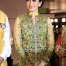 Karisma Kapoor in Beautiful Light Green Anarkali Long Frock