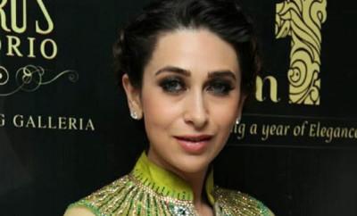 Karisma Kapoor in Bollywood Anarkali Frock