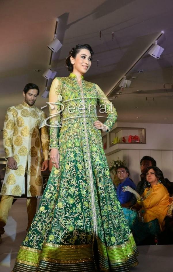 Karisma Kapoor in Bollywood Anarkali